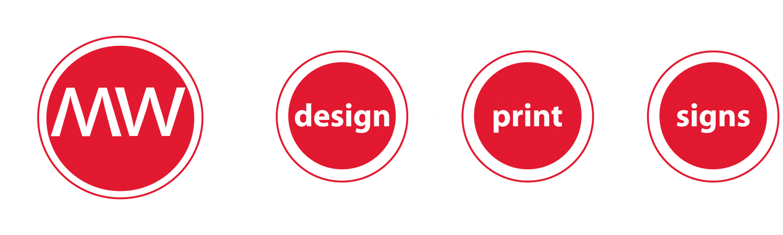 MW Design Print Signs